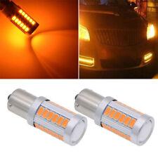 1156 PY21W BAU15S 33 LED SMD Canbus Bulbs Car Backup Reverse Light Signal Lamp*2