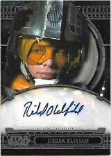 2017 Star Wars 40th Anniversary Autograph Richard Oldfield as Hobbie Klivian