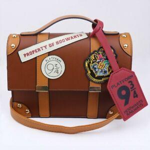 Harry Potter Hogwarts Platform 9 3/4 Shoulder Bag Women Handbag PU Leather Bag