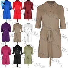 Unbranded Collar Shirt Dresses for Women