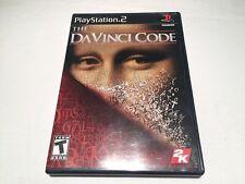 The DaVinci Code (Playstation PS2) Black Label Original Complete Excellent!