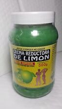 LEMON CREAM 18 OZ CREMA REDUCTORA DE LIMON 500 GR NEW 05/2018 MADE IN MEXICO