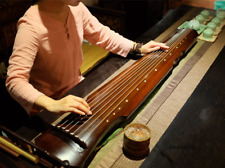 Guqin Chinese Seven-stringed Zither Ancient Instrument Strings(123cm)