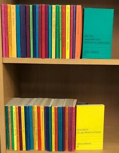 48 Bücher Edition Suhrkamp, u.a. Frisch Brecht Handke Weiss, Konvolut Sammlung