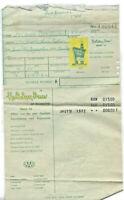 27 JUNE 1962 HOLIDAY INN HOTEL OF RICHMOND ORIGINAL BILL