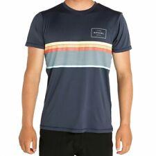 Rip curl Mens S/Sleeve UPF 50+T-shirt UV Protection Performance Summer Tee S-XXL