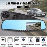 2.8'' HD 1080P Rear View Mirror Car DVR Dash Cam Recorder Camera Night Vision