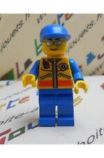 Minifig lego rescue  figurine garde côte patrouilleur   pour set 7726 7739