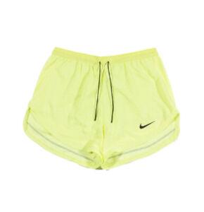 "Nike Men's Yellow Dri-Fit Run Division Pinnacle 3"" 2 in 1 Running Shorts"