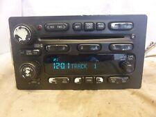 03 04 05 Chevrolet Gmc Cadillac Isuzu Bose Radio 6 Cd Player 15234935 A0Q101