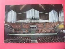 ocean grove ca postcard largest organ in the world 1911
