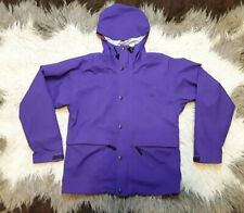 the north face gore-tex Purple coat shell jacket with hood XS
