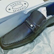92122a463e6 Steve Madden Mens Rumsford Leather Slip On Dress Shoe