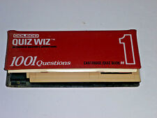 Coleco Quiz Wiz Game and Quiz Book #1 - 1980 - Vintage