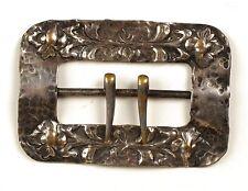 Antique sash pin Art Nouveau buckle vtg ladies signed Apollo Studios New York