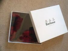 Barbour Mens Scarf And Gloves Tartan , New In Box Soft Lambswool