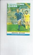 Away Teams Bristol Rovers League Cup Football Programmes