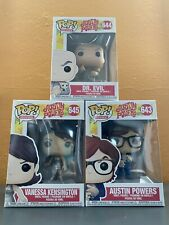Funko Pop! Movies. Austin Powers Complete Set. #643 644 645.