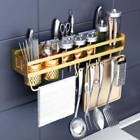Multifucntional Kitchen Seasoning Pot Knife Spoon Rack Storage Holder Organizers