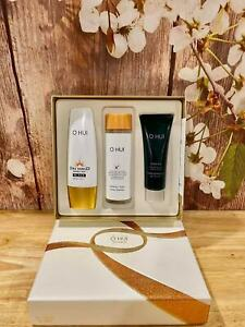 O HUI Day Shield Set Perfect Sun Black SPF50 + Water Cleanser + Gel Cleanser