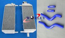 For Suzuki RM250 RM 250 2001-2008 02 03 04 05 06 07 Aluminum radiator & hose