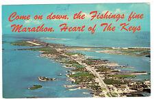 Marathon Florida Heart of the Keys Chrome posted 1969