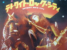 "KISS 45 RPM 7"" - Detroit Rock City UNPLAYED W/JAPAN SLEEVE"
