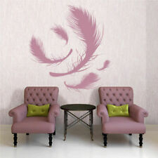 Wall Decal Sticker Plumage Feather Birds Nib Styl Falling Feather Peacock I11