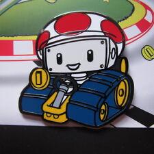 Super Motor Kart Small Fry TOAD Epic Enamels Pin, Geek Fuel SNES Retro Exclusive