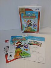 Super Paper Mario (Wii, Nintendo Selects) Complete Cib Working & Tested. B3