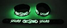 Get Scared NEW! Glow in the Dark Rubber Bracelet Wristband Sarcasm gg194