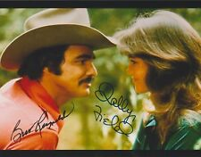 Burt Reynolds & Sally Field Smokey and the Bandit RARE DUEL-SIGNED RP 8X10 WOW!!