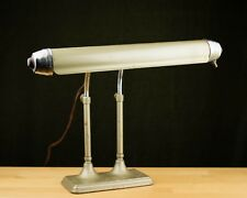 vintage RADIONIC FLUORESCENT DESK LAMP Art Deco PIANO LAMP Chicago ESTATE ITEM