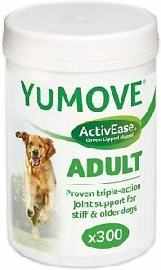 Lintbells YuMOVE Dog Supplement for Stiff Dogs (300 Tablets)