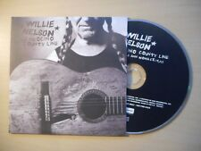 Willie Nelson With Lee Ann Womack – Mendocino County Line *PROMO* [ CD SINGLE ]