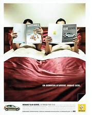 Publicité Advertising 078  2008   Renault   la Clio Estate break *