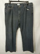 DKNY Big Men's Dark Wash Relaxed Fit straight Leg Jeans size 40x30