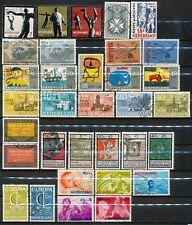 Nederland jaargangen 1965 - 1966 gebruikt zonder de blokken (4)