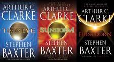 Arthur C Clarke TIME ODYSSEY TRILOGY Classic Sci Fi Space Series PAPERBACKS 1-3