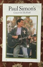 PAUL SIMON  Concert In The Park  rare original promotional poster