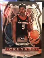 2020 Panini Prizm Draft Picks Crusade Anthony Edwards RC Rookie