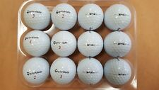 12 Used AAAA/Near Mint Condition Taylormade TP5x Golf Balls