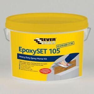EVERBUILD 105 EPOXYSET STANDARD CURE CONCRETE STEP REPAIR MORTAR GREY 4KG EPOXY