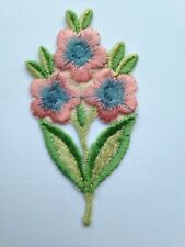 TURMAC Tobacco Cigarette Embroidery Silk OPEN FLOWERS C 14