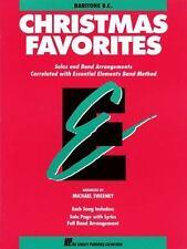 Essential Elements Band: Essential Elements Christmas Favorites : Baritone B.C.