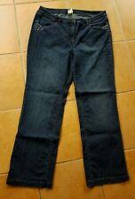 Damen Jeans Hose,Stretch Jeanshose Gr. 46 mit  Ziernieten