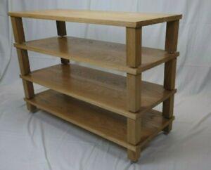 """""""Carmen"""" Solid Oak handmade modular HI-FI / AV Stand"""
