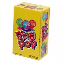 Ring Pop Hard Candy Pops, Variety Pack, 24 Count Factory Sealed