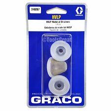 New Graco 240267 HVLP Edge II Spray Gun Qt Cup Filter Strainer
