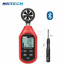 NKTECH UT363BT+ Bluetooth Digital Anemometer Gauge Air Wind Speed Temp Meter